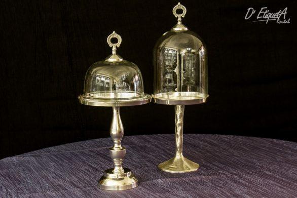 Cupula Transparente con Pedestal